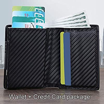 KOOGOO Wallet with Money Clip RFID Blocking Wallet|Minimalist Genuine