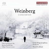 Mieczyslaw Weinberg: Concertos by Gunnarsson (2008-06-24)
