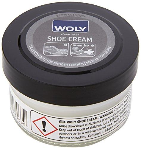 Woly Shoe Cream, Unisex Erwachsene Schuhpflegeprodukt , Transparent (Neutral) , 50 ml
