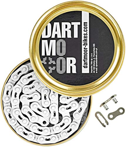 "DARTMOOR Core Kette 1/8\"" weiß 2021 Fahrradkette"