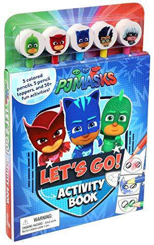 PJ Masks Let's Go Activity Book (Pencil Toppers)
