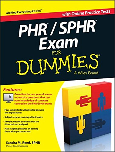 Download PHR / SPHR Exam For Dummies 1118603621