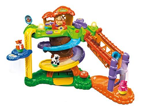 VTech 80-510974 80-510904 ZoomiZooz-Baumhaus Babytiere, Mehrfarbig