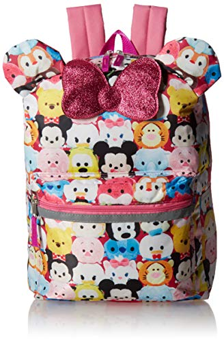 Disney Tsum 16' Backpack with Bow Tote, One Size