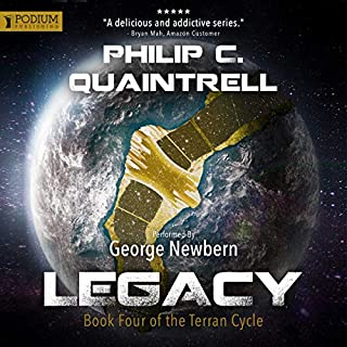 Legacy     The Terran Cycle, Book 4              Auteur(s):                                                                                                                                 Philip C. Quaintrell                               Narrateur(s):                                                                                                                                 George Newbern                      Durée: 10 h et 20 min     Pas de évaluations     Au global 0,0