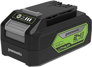 Greenworks Tools Batería G24B4 2ª generación - Batería potente y recargable de Li-Ion 24 V 4,0 Ah, apta para todos los dispositivos de la serie de 24 V de Greenworks Tools
