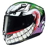 HJC Helmets RPHA 11 Joker MC48 Casco de Motociclismo, Unisex, Blanco Verde Púrpura, L