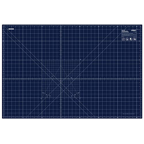 OLFA 1135484 RM-MG NBL Cutting Mat, 24x36, Blue