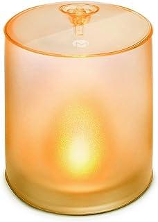 MPOWERD エムパワード キャンドル 空気で膨らむ ソーラーライト こはく色 の ゆらぎ の 灯り