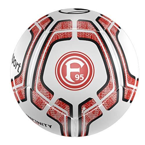 uhlsport Unisex– Erwachsene F95 Infinity Team Mini Fussball, weiß/rot/schwarz, NOSIZE