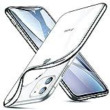 GNFD Cover Compatibile iPhone 11 Silicone Trasparente Custodia Nuova Generazione Morbida U...
