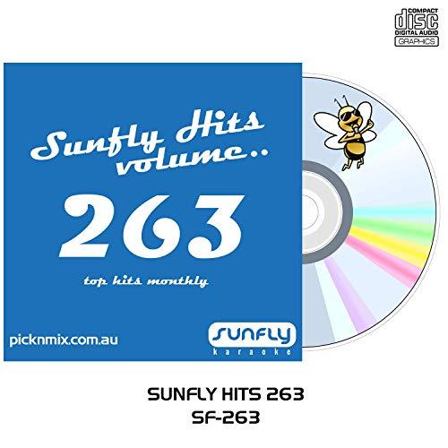 Fantastic Prices! SUNFLY Karaoke CDG SFG263 - Vol. 263