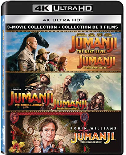 Jumanji (1995) / Jumanji: The Next Level / Jumanji: Welcome to the...