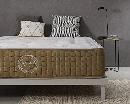 SIMPUR RELAX | Matelas mémoire de forme luxe BLISS CONFORT® Épaisseur 30 cm | 135x190 | Série...