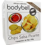 Bodybell Chips Salsa Picante 4 Sobres 100 g