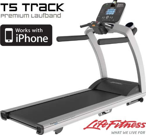 Life Fitness T5 Track Laufband. Modell 2017. Einstellbares FlexDeck®