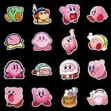 Later Star Kirby Anime Niedlicher Charakter Aufkleber PVC Graffiti Aufkleber Koffer Gepäck Gitarre Wasserdicht 50PCS