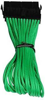 BitFenix 30cm 24-Pin ATX Extension Cable - Sleeved Green/Black