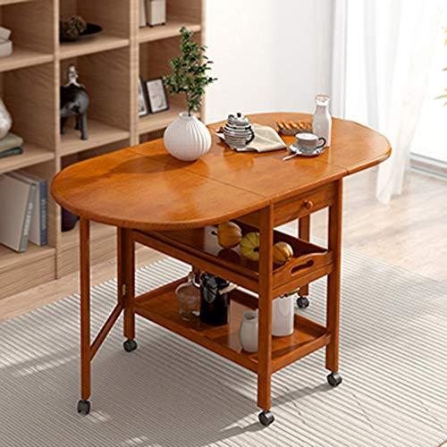 Bureau DD massief hout klaptafel eettafel multifunctionele telescopische rechthoek dubbel vouwen 4-6 personen eten tafel -werkbank
