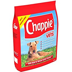 Easily digestible Balanced dog food Low in fat Made with wholegrain cereals for fibre & energy Vitamin enriched