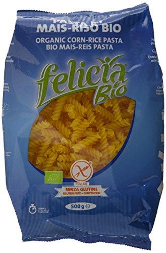Bio Felicia Pasta Biologica Mais-Riso , 500 g, 3er Pack (3 x 500 g)