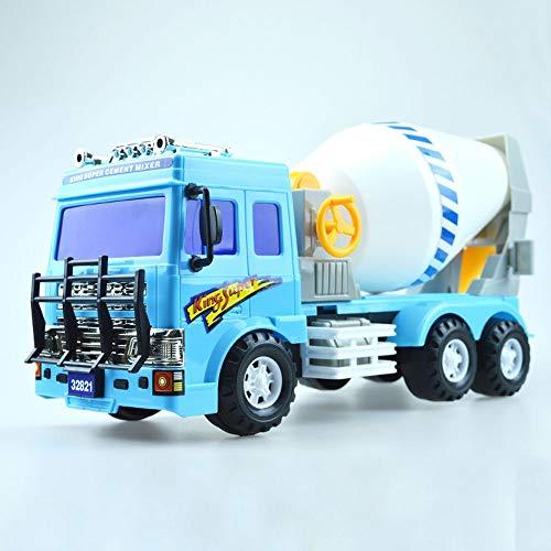 Xolye Trägheit vorwärts Große Mischer Truck Simulation Engineering Truck Modell Beton Tank LKW Cement Pump Truck Jungen Spielzeug Geschenk