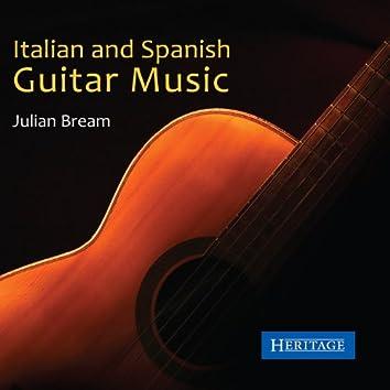 Italian and Spanish Guitar Music