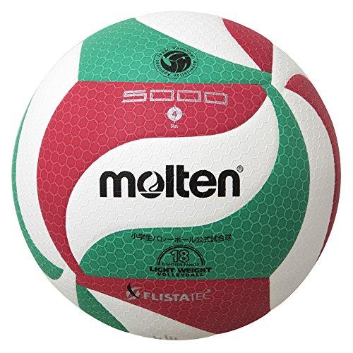 モルテン フリスタテック 軽量バレーボール4号(全日本小学生大会公式試合球) 1球