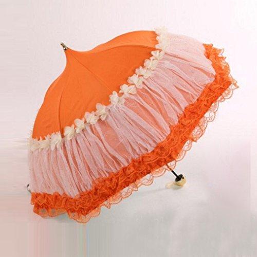 bpblgf nieuwe paraplu bruiloft parasol bruidsparaplu winddichte waterdichte pagode paraplu C, 04