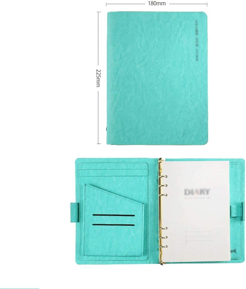 DZWYC Notebook A5 Super At the price Thick Ruled Spiral College Ha Limited time cheap sale