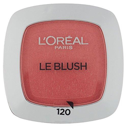 L'Oréal Paris Rouge Perfect Match Le Blush, 120 Sandalwood Pink / Dezent-matter Blush für einen...