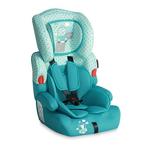 Lorelli 10070011853 Siège Auto Kiddy Groupe 1/2/3 Bleu Turquoise
