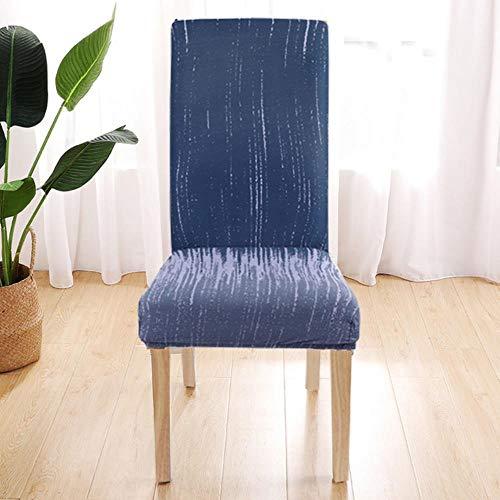 SDFCZ 1/2/4 / 6pcs Geometry Stuhlbezug Elastic Dining Chair Covers Spandex h B¨¹rostuhletui Abnehmbare Schutzh¨¹llen-G294388, USA, 1pc