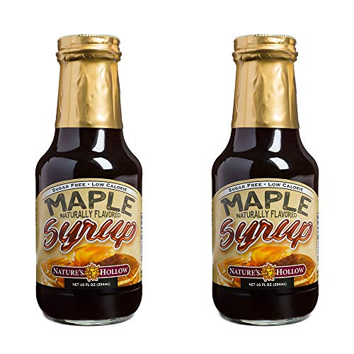 Nature's Hollow Sugar-Free Maple Flavored Syrup