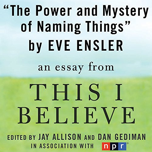 The Power and Mystery of Naming Things audiobook cover art