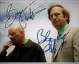 ◆直筆サイン ◆ブレイキングバッド ◆BREAKING BAD TV (2008-2013) ◆ブライアン クランストン as ウォルター ホワイト ◆Bryan Cranston as Walter White ◆ボブ オデンカーク as ソウル グッドマン ◆Bob Odenkirk asSaul Goodman ◆豪華2名