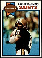 1979 Topps # 383 Archie Manning New Orleans Saints (Football Card) NM Saints Ole Miss