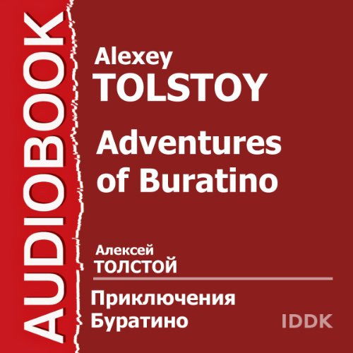Adventures of Buratino [Russian Edition] cover art