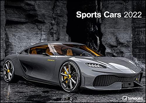 Sports Cars 2022 - Foto-Kalender - Wand-Kalender - 42x29,7 - Autos: Wandkalender A3