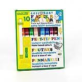 Rotulador para niños pequeños 10 colores