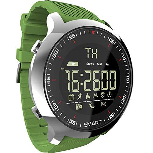 MOLINB Slim horloge Sport horloge Bluetooth Waterdicht Heren Smart horloge Digitaal Extra lang Stand-by Ondersteuning Bel- en SMS-herinnering SmartWatch