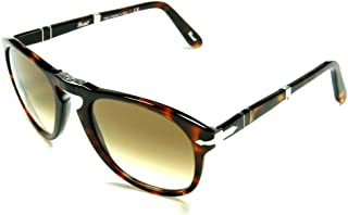 6e2aad2051 Persol PO0714 24 51 Havana Sunglasses with Brown Faded Lenses 52mm 714 24 51