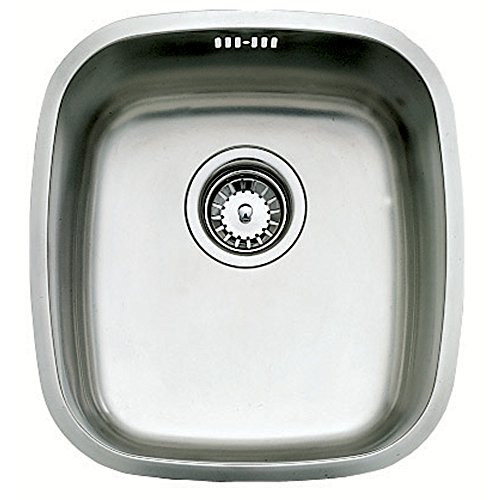 Fregadero Teka Bajo Encimera Be 34.37 Color Inox Ref 10125004 Mueble De 45 Cm
