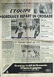 EQUIPE (L') [No 12085] du 18/03/1985 - KUIPER - BASKET - BORDEAUX - DNIEPR - BORDEAUX - SAINT-ETIENNE - RUGBY - LE TOURNOI - NATATION - HOCKEY - COREE - JUDO - BASKET - RUGBY - JEU A XIII - EQUITATION - ROZIER.