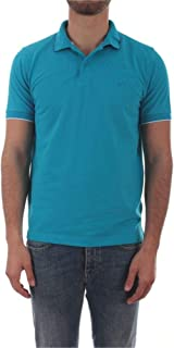 SUN 68 Luxury Fashion Mens A3010613 Light Blue Polo Shirt |