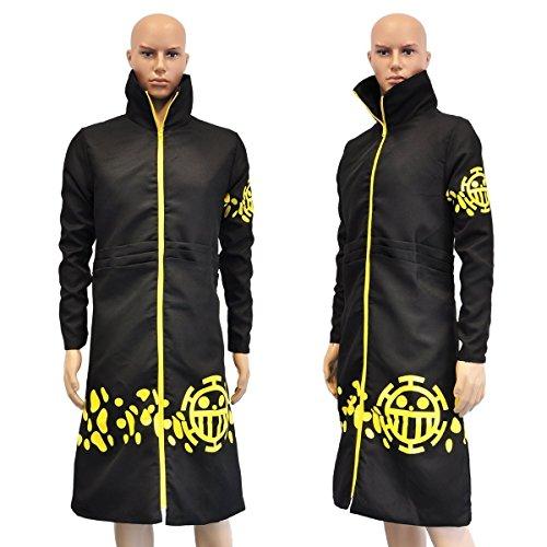 CoolChange abrigo de Trafalgar Law de One Piece después del salto tem