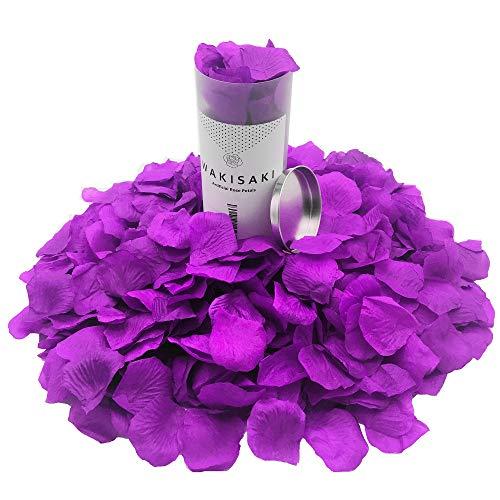 1000 purple rose petals - 2