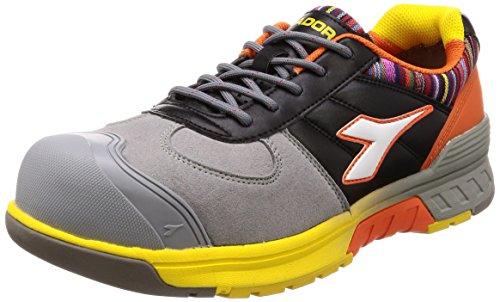 [ディアドラユーティリティ] 安全作業靴 JSAA認定 プロスニーカー BLUEJAY ブルージェイ BJ812 グレー/ホワイト/ブラック 26.0cm 3E