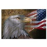 Rompecabezas de 1000 piezas para adultos Bandera de Estados Unidos Águila Patriótica Nosotros el pueblo Declaración de Independencia Backgroud Puzzle para niños niñas mayores regalos