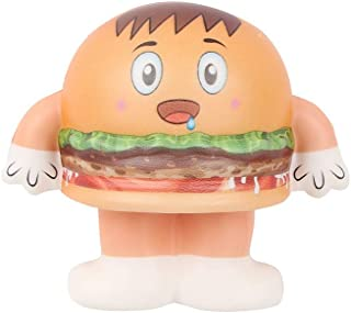 Mini Adorable Hamburger Doll Slow Rising Kids Stress Reliever Decompression Toy